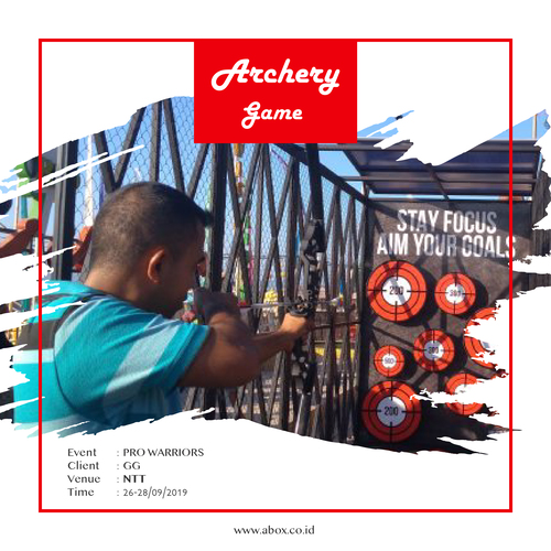 Rental Game Archery Game
