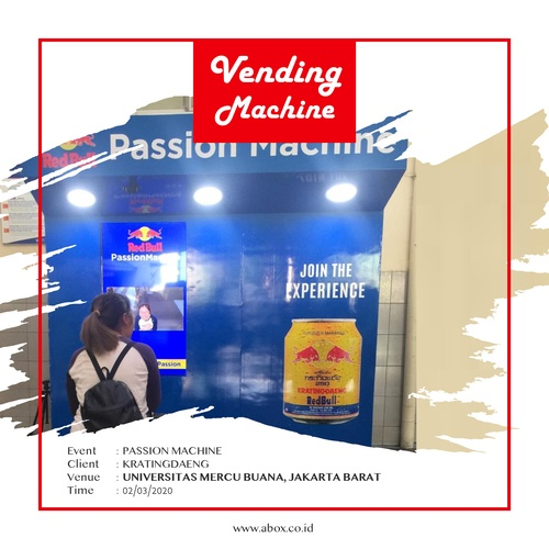 Event Kratingdaeng di Universitas Mercu Buana